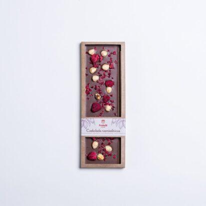 czekolada malinowa belgijska