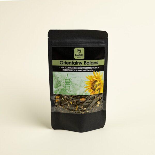 zielona herbata jaśmin słonecznik