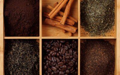 Zestaw kawy i herbaty na prezent